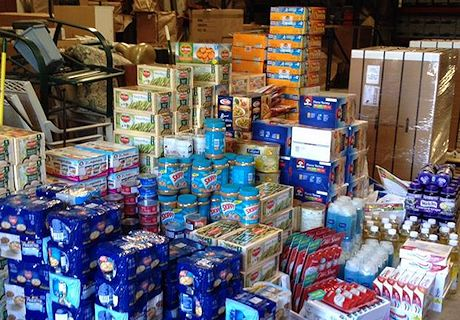 Food will be distributed to our community food banks that same day!